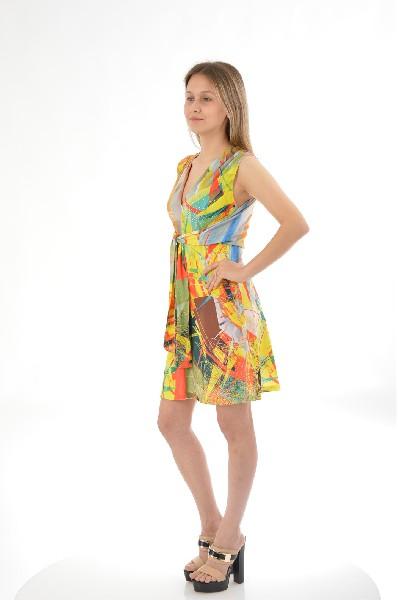 Фото - Платье ETOILE DU MONDE разноцветного цвета