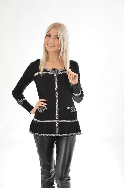 женская кофта etincelle, черная