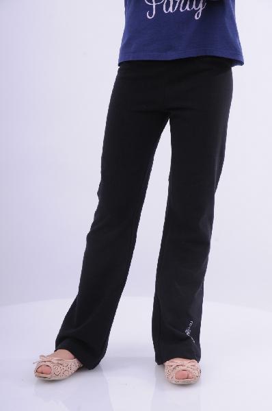 брюки клеш arina ballerina для девочки, черные