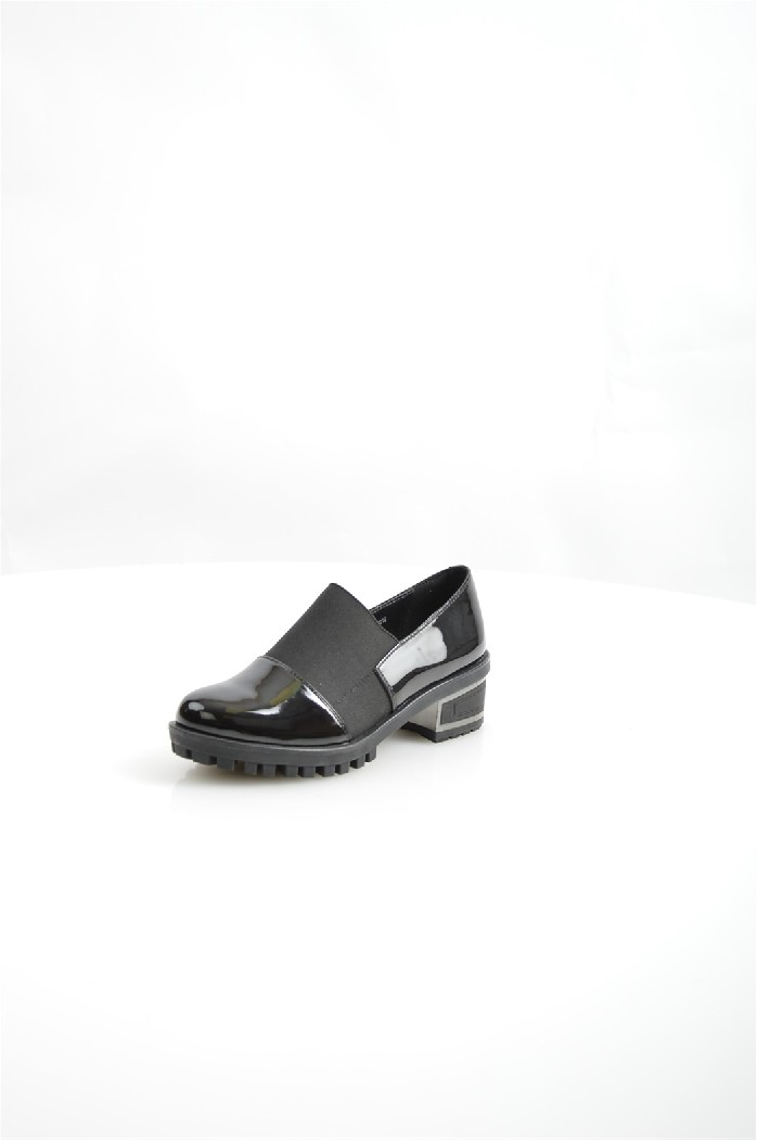 женские ботильоны на каблуке avenir, черные