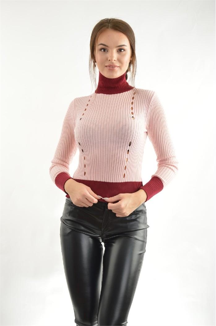 женская водолазка john richmond, розовая