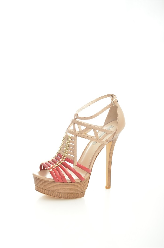 женские босоножки на каблуке paolo conte, разноцветные