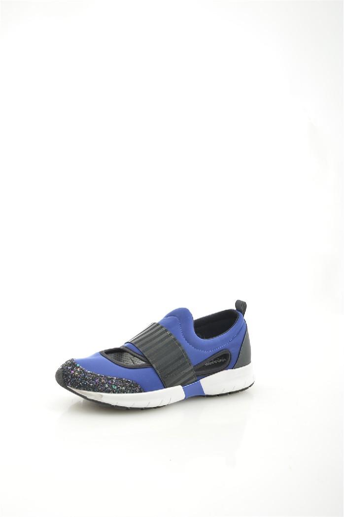 женские кроссовки armani jeans, синие