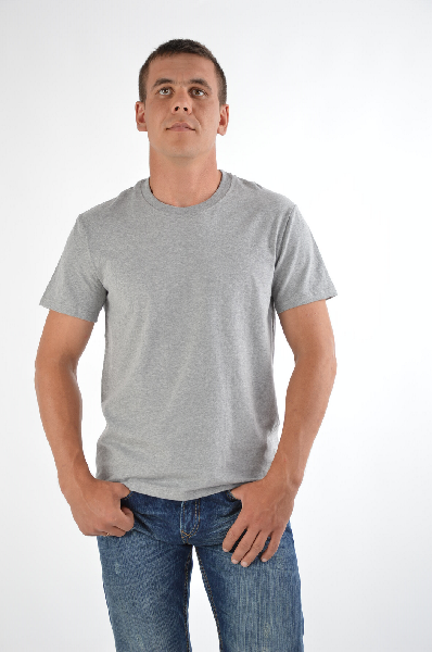 мужская футболка dolce & gabbana, серая