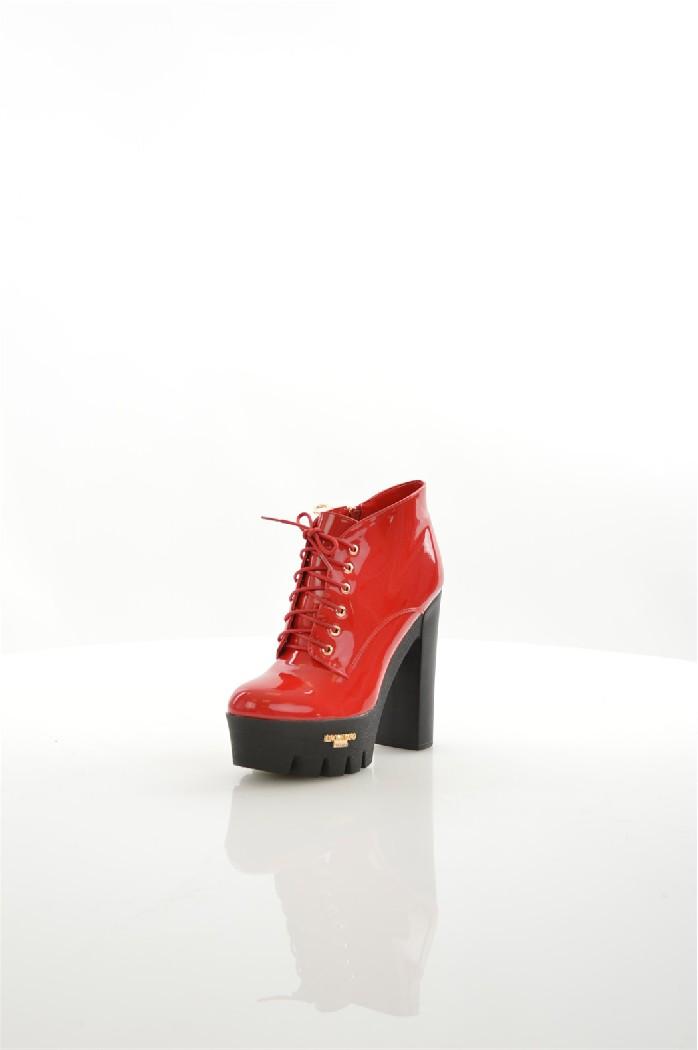 Фото - Женские ботильоны LINO MORANO красного цвета