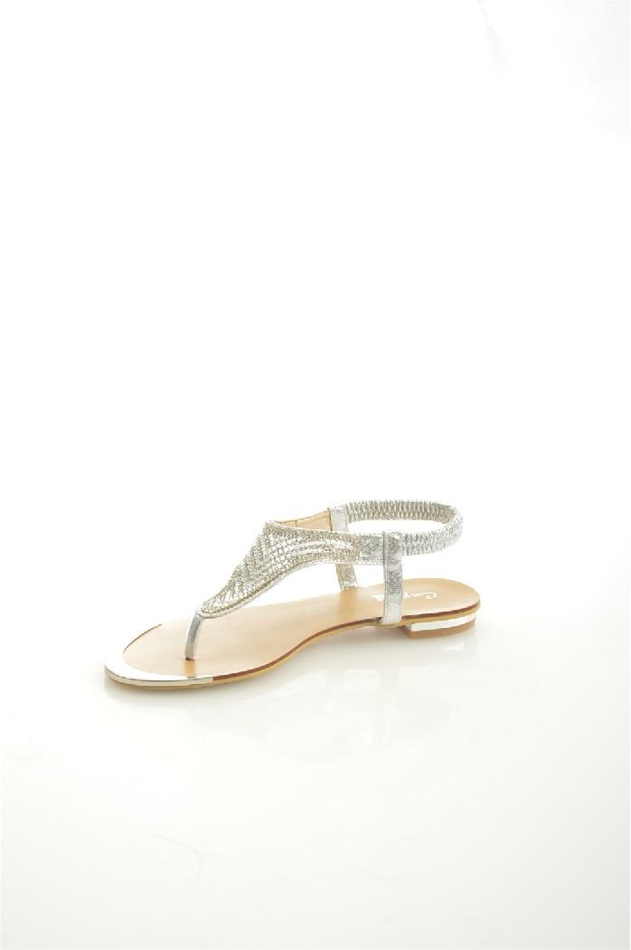 женские босоножки на каблуке capriseelite, серые