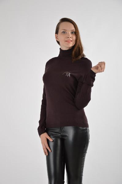 женский свитер guess by marciano, бордовый