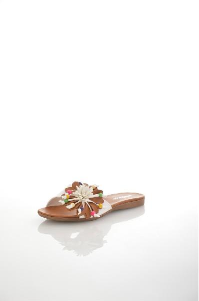 женское сабо на каблуке amazonga, белое