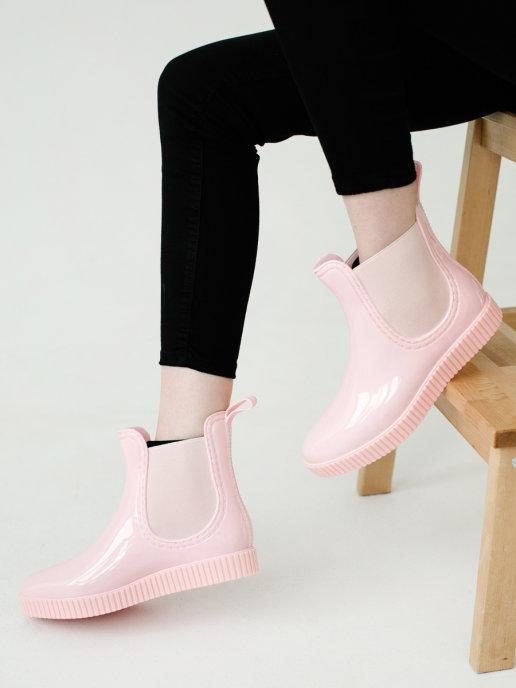 женские ботинки ana.r, розовые