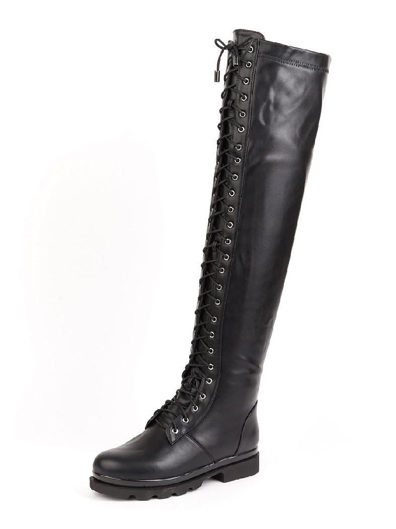 женские ботфорты на каблуке summergirl, черные