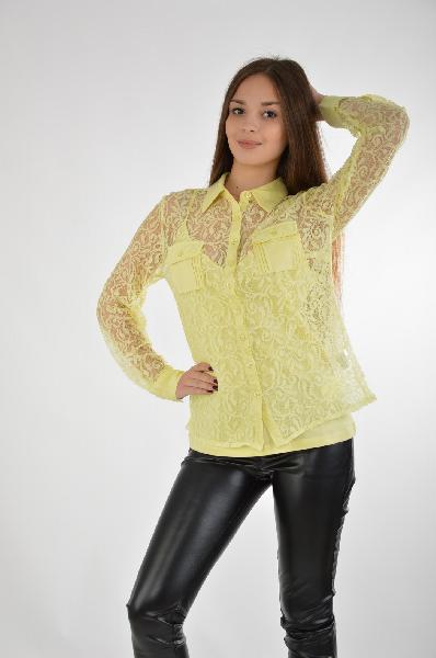 женская блузка best connections, желтая