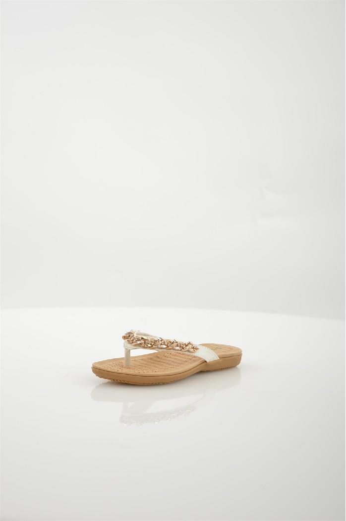 женское сабо на каблуке evita, бежевое