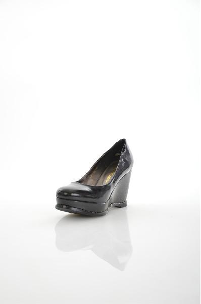 женские туфли на каблуке tervolina, черные
