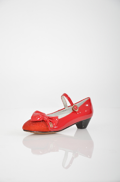 туфли vitacci для девочки, красные