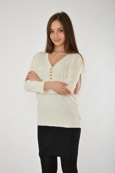 женский свитер michael kors, белый