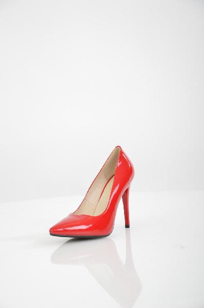 женские туфли на каблуке makfine, красные
