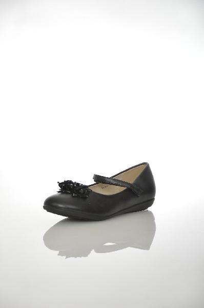 туфли на каблуке patrol для девочки, черные