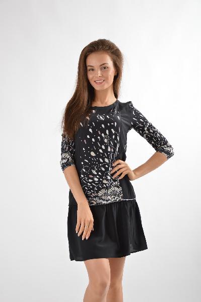 женское платье liu jo, черное