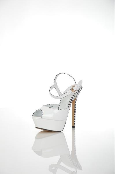 женские туфли на каблуке svetski, белые