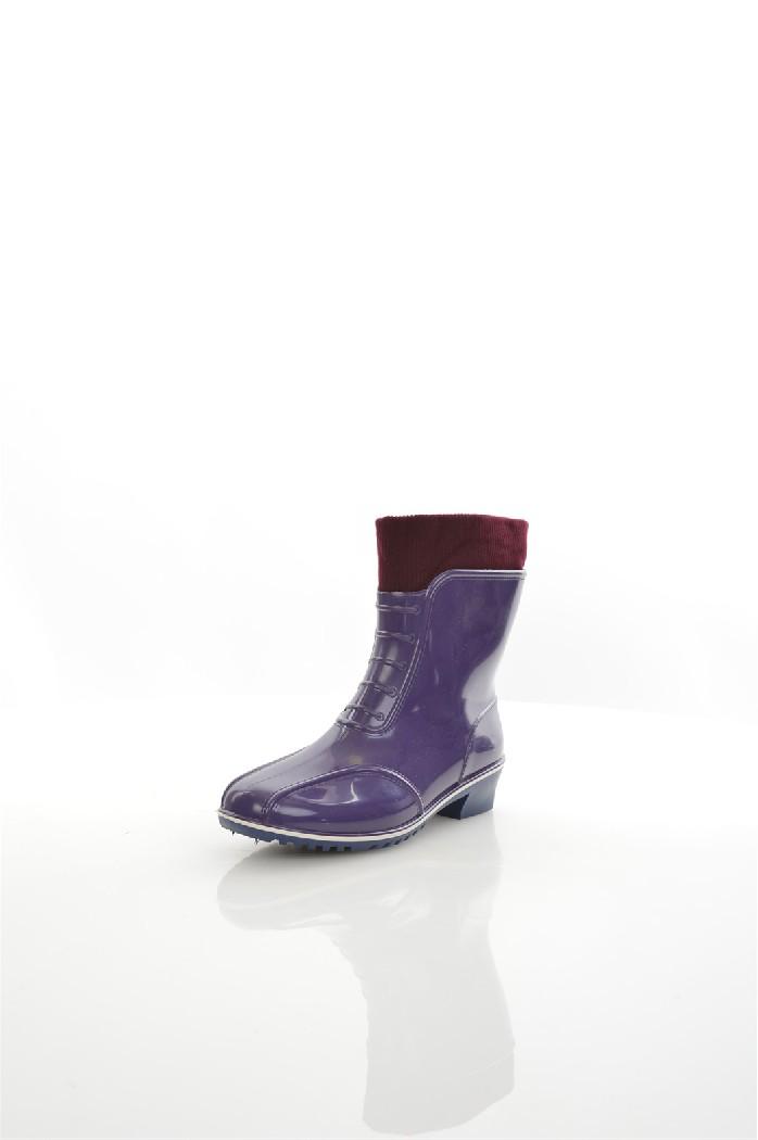 женские резиновые сапоги дюна, фиолетовые