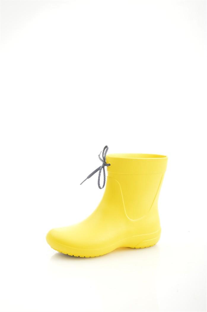 женские резиновые сапоги crocs, желтые