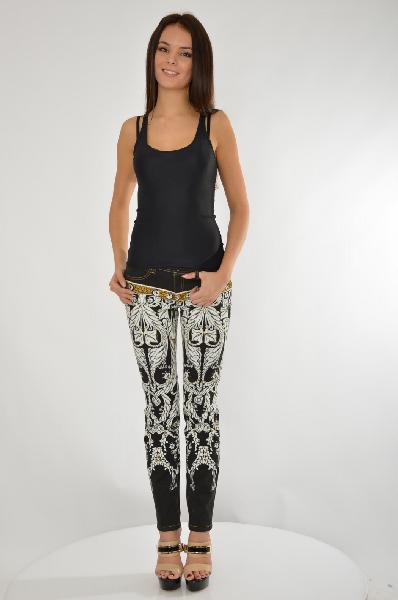 женские джинсы just cavalli, разноцветные