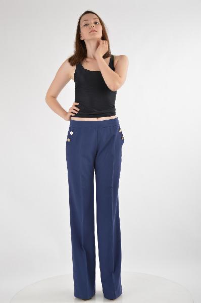 женские брюки guess by marciano, синие