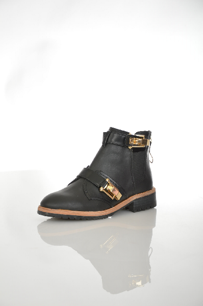 женские ботинки на каблуке aldo, черные