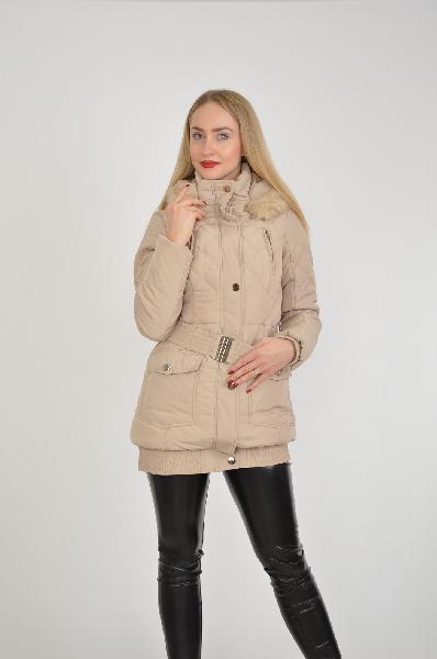 женская куртка mohito, бежевая