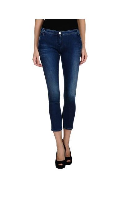 женские джинсы armani jeans, синие
