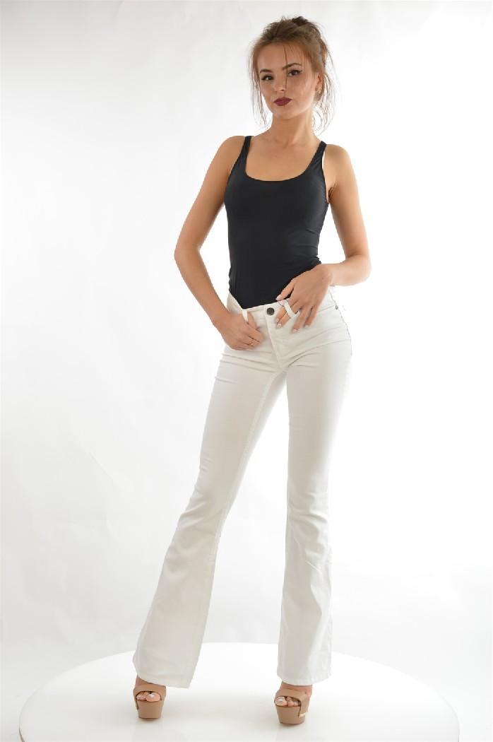 женские джинсы ajc, белые