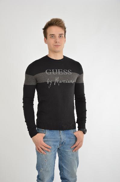 мужской свитер guess by marciano, черный