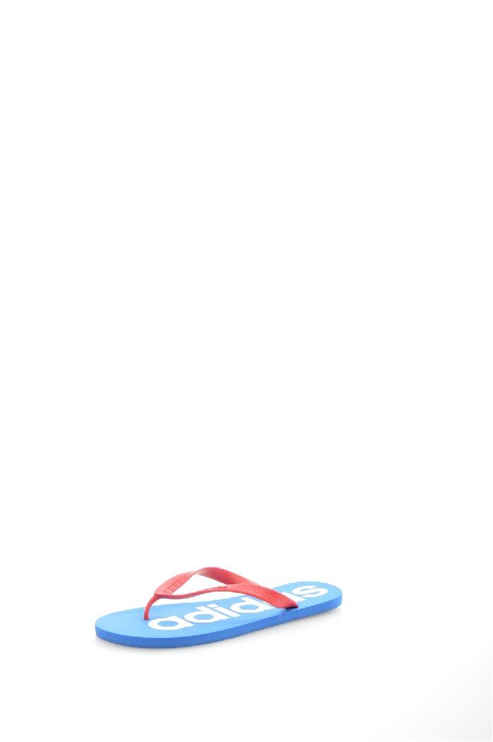 Шлепанцы adidasШлёпанцы<br>Цвет: голубой, розовый<br> Материал верха: искусственный материал<br> Материал подкладки: искусственный материал<br> Материал стельки: искусственный материал<br> Материал подошвы: искусственный материал, рифленая<br> Сезон: лето<br> Местоположение логотипа: стелька<br> Уход за изделием: протирать губкой<br> <br> Страна дизайна: Германия<br> Страна производства: Вьетнам<br><br>Материал: Искусственный материал<br>Сезон: ЛЕТО<br>Коллекция: Весна-лето<br>Пол: Мужской<br>Возраст: Взрослый<br>Цвет: Синий<br>Размер RU: 46