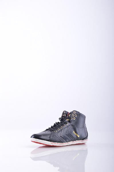 Кеды HUMMELЖенская обувь<br>эффект лакировки, обработка лазером, одноцветное изделие, шнуровка, скругленный носок, логотип, резиновая подошва, без каблука<br>Страна: США<br><br>Высота каблука: Без каблука<br>Материал: Искусственная кожа<br>Сезон: МУЛЬТИ<br>Коллекция: Весна-лето<br>Пол: Женский<br>Возраст: Взрослый<br>Цвет: Черный<br>Размер RU: 37