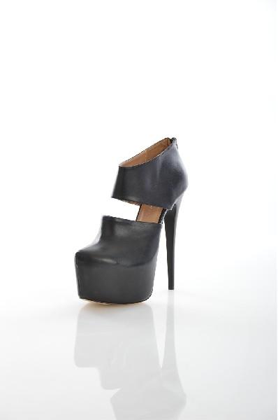 Туфли High K.C.Женская обувь<br>Цвет: чёрный<br> Состав: искусственная кожа<br> Параметры изделия: Для европейского размера 37: толщина платформы 5,5 см, высота каблука 12 см.<br> Страна: Турция<br><br>Высота каблука: 12 см<br>Высота платформы: 5.5 см<br>Материал: Искусственная кожа<br>Сезон: МУЛЬТИ<br>Коллекция: (Справочник &quot;Номенклатура&quot; (Общие)): Весна-лето<br>Пол: Женский<br>Возраст: Взрослый<br>Цвет: Черный<br>Размер RU: 37