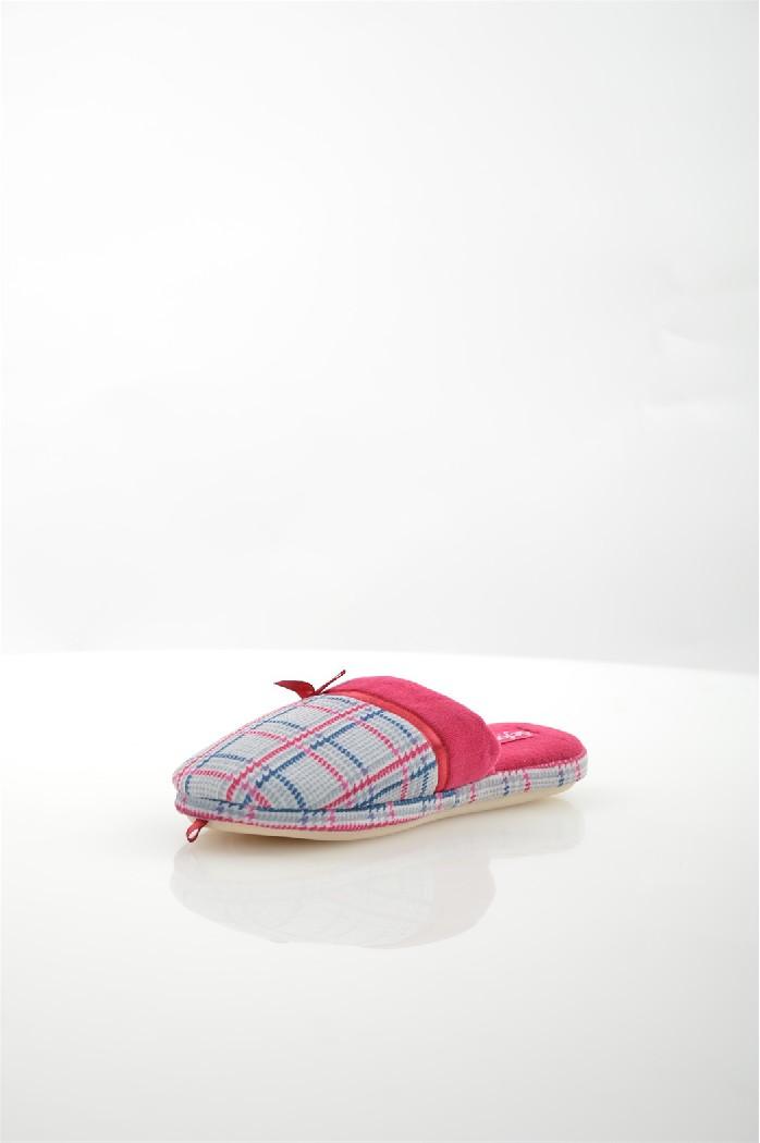 Тапочки De FonsecaДомашняя обувь<br>Цвет: темно-синий<br> Состав: текстиль 100%<br> <br> Материал подкладки: Текстиль<br> Габариты предмета: высота платформы: 1 см; высота каблука: 1 см; высота подошвы: 1 см<br> Материал подошвы: резина<br> Материал стельки: текстиль<br> <br> Страна бренда: Италия<br><br>Высота платформы: 1 см<br>Материал: Текстиль<br>Сезон: МУЛЬТИ<br>Коллекция: (Справочник &quot;Номенклатура&quot; (Общие)): Весна-лето<br>Пол: Женский<br>Возраст: Взрослый<br>Цвет: Фиолетовый<br>Размер RU: 38/39