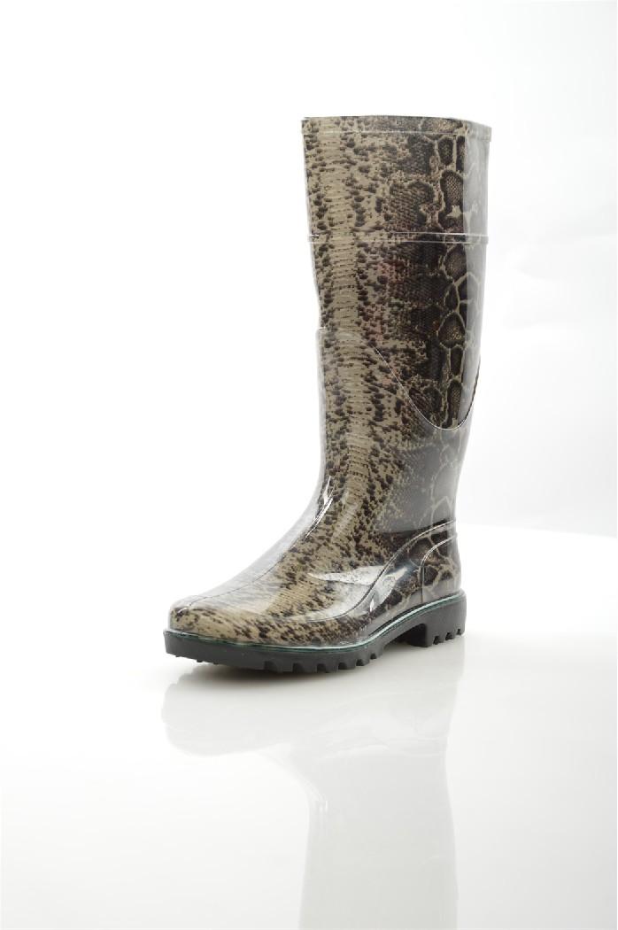 Резиновые сапоги Just CoutureЖенская обувь<br>Цвет: черный, серый<br> Состав: резина 100%<br> <br> Фактура материала: гладкий<br> Материал стельки: Текстиль<br> Материал подошвы: Резина<br> Материал подкладки: текстиль<br> Высота каблука: 3 см<br> Сезон: демисезон<br> <br> Страна: Италия<br><br>Высота каблука: 3 см<br>Материал: Резина<br>Сезон: ВЕСНА/ОСЕНЬ<br>Коллекция: Весна-лето<br>Пол: Женский<br>Возраст: Взрослый<br>Цвет: Разноцветный<br>Размер RU: 38