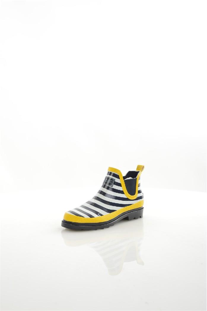 Резиновые сапоги REGATTAЖенская обувь<br>Цвет: желтый, белый, темно-синий<br> Состав: резина 95%,эластан 5%<br> <br> Вид застежки: Без застежки<br> Материал подошвы обуви: резина<br> Материал стельки: искусственный материал<br> Вид каблука: без каблука; стандартный<br> Форма мыска: круглый<br> Материал подкладк...<br><br>Высота каблука: 3 см<br>Высота платформы: 2 см<br>Материал: Резина<br>Сезон: ВЕСНА/ОСЕНЬ<br>Коллекция: (Справочник &quot;Номенклатура&quot; (Общие)): Весна-лето<br>Пол: Женский<br>Возраст: Взрослый<br>Цвет: Разноцветный<br>Размер RU: 37
