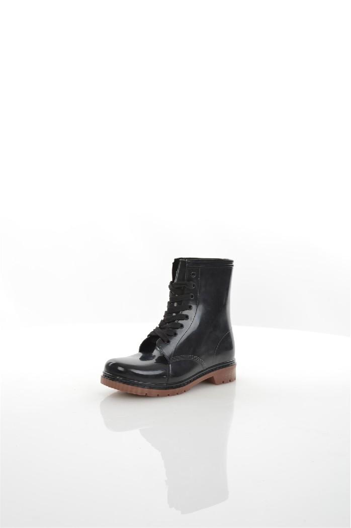 Резиновые сапоги OodjiЖенская обувь<br>Цвет: черный, коричневый<br> Состав: резина 100%<br> <br> Вид застежки: Шнуровка<br> Материал верха: Резина<br> Материал подошвы: Резина<br> Форма мыска: Закругленный мысок; круглый<br> Голенище: Высота голенища: 16 см; Обхват голенища: 24 см<br> Форма каблука: Каблук-кирпичик<br> Особенности материала верха: Матовый<br> Материал подошвы обуви: искусственный материал<br> Материал стельки: искусственный материал<br> Вид каблука: без каблука<br> Габариты предметов: Высота платформы: 2 см; Высота подошвы: 2 см; Высота каблука: 3 см<br> Назначение обуви: повседневная<br> Материал подкладки обуви: Без подкладки<br> Вид мыска: закрытый<br> Сезон: демисезон<br> Пол: Женский<br> Страна: Россия<br><br>Высота каблука: 2 см<br>Высота платформы: 3 см<br>Объем голени: 24 см<br>Высота голенища / задника: 16 см<br>Материал: Резина<br>Сезон: ВЕСНА/ОСЕНЬ<br>Коллекция: Весна-лето<br>Пол: Женский<br>Возраст: Взрослый<br>Цвет: Черный<br>Размер RU: 38