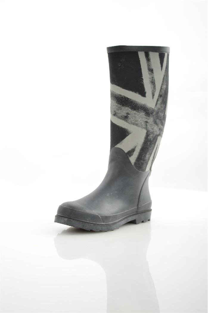 Резиновые сапоги KEDDOЖенская обувь<br>Цвет: черный<br> Состав: текстиль, резина<br> <br> Вид застежки: Молния<br> Высота платформы: 1 см<br> Материал подкладки обуви: Текстиль<br>Высота голенища: 35 см; <br>Обхват голенища: 40 см<br> Особенности материала верха: Матовый<br> Сезон: демисезон<br> <br> Страна бренда: Соединенное Королевство<br><br>Высота платформы: 1 см<br>Объем голени: 40 см<br>Высота голенища / задника: 34 см<br>Материал: Текстиль<br>Сезон: ВЕСНА/ОСЕНЬ<br>Коллекция: Весна-лето<br>Пол: Женский<br>Возраст: Взрослый<br>Цвет: Черный<br>Размер RU: 36