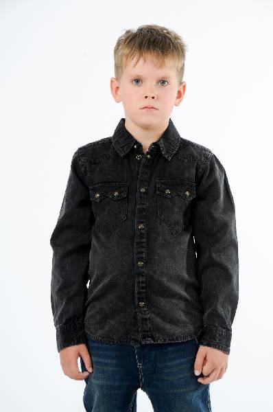 Рубашка NAME ITОдежда для мальчиков<br>Цвет: темно-серый<br> <br> Состав: хлопок 100%<br> <br> Такая модная, удобная рубашка обязательно должна быть в гардеробе Вашего ребенка. Изделие с длинными рукавами, аккуратным воротничком и застежкой спереди. На груди имеются накладные карманы.<br> Воротник Классический<br> Длина рукава Длинные, 44.5 см<br> Фактура материала Текстильный<br> Тип карманов Накладные<br> Вид застежки Кнопки<br> Габариты предметов Длина, 46.5 см<br> Ширина рукава Пройма, 18.5 см<br> Ширина рукава Манжет, 4.5 см<br> Конструктивные элементы Карман<br> Особенности ткани Мягкая<br> Сезон демисезон<br> Пол Мальчики<br> Страна бренда Дания<br> Страна производитель Китай<br> Комплектация: рубашка<br><br>Материал: Хлопок<br>Сезон: ВЕСНА/ОСЕНЬ<br>Коллекция: Весна-лето<br>Пол: Мужской<br>Возраст: Детский<br>Цвет: Черный<br>Размер Height: 128