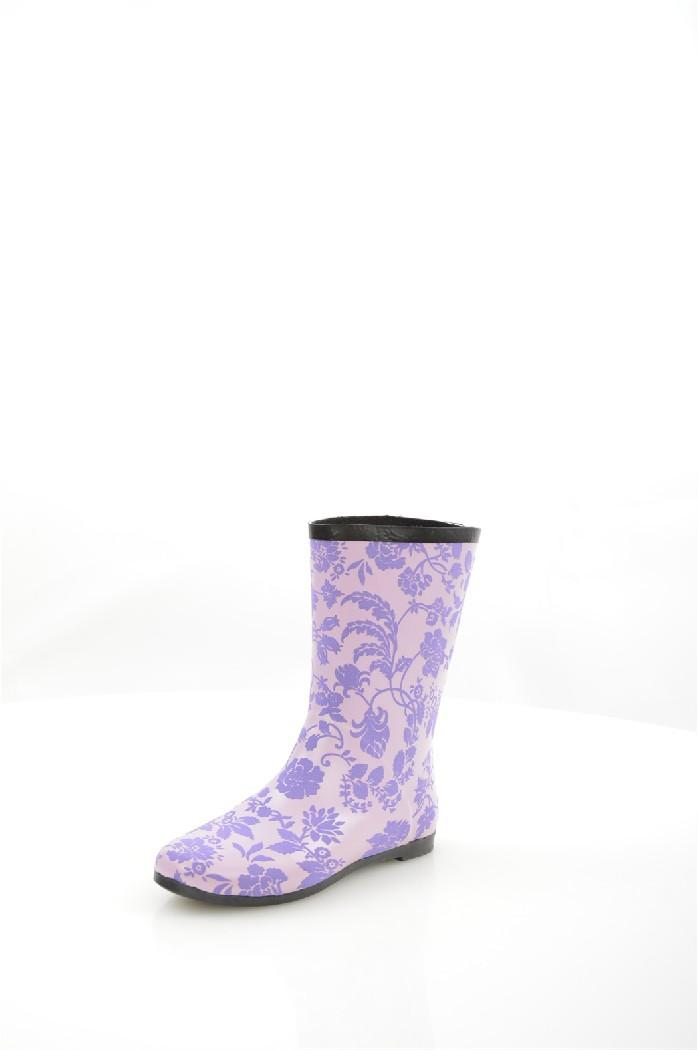 Сапоги резиновые NOBBAROЖенская обувь<br>Цвет: сиреневый<br> Материал верха: резина<br> Материал подкладки: текстиль<br> Материал стельки: текстиль<br> Материал подошвы: резина, шероховатая<br> Высота голенища: 23 см<br> Высота каблука: 1,5 см<br> Местоположение логотипа: стелька<br><br>Высота каблука: 1.5 см<br>Высота голенища / задника: 23 см<br>Материал: Резина<br>Сезон: ВЕСНА/ОСЕНЬ<br>Коллекция: Весна-лето<br>Пол: Женский<br>Возраст: Взрослый<br>Цвет: Сиреневый<br>Размер RU: 37