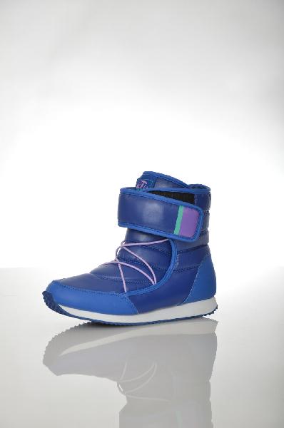 Сапоги PatrolЖенская обувь<br>Теплые дутые сапоги в спортивном стиле в насыщенном синем цвете – хороший выбор для тех, кто много передвигается по улице зимой. Модель хорошо сочетается с джинсами либо спортивными брюками. Изделие имеет декоративную шнуровку и удобную застежку на липучке. <br> Цвет: синий<br> <br> Состав: текстиль 100%<br> <br> Вид застежки Липучка, 0 шт.<br> По назначению Спорт, 0 шт.<br> Материал подошвы Резина, 0 %<br> Голенище Высота голенища, 20 см<br> Голенище Обхват голенища, 30 см<br> Материал стельки Искусственный мех, 0 %<br> Высота каблука Высота, 1 см<br> Материал подкладки искусственная кожа, 0 %<br> Вид каблука без каблука, 0 шт.<br> Вид мыска круглый, 0 шт.<br> Сезон зима<br> Пол Женский<br> Страна Россия<br><br>Высота каблука: 1 см<br>Объем голени: 30 см<br>Материал: Текстиль<br>Сезон: ЗИМА<br>Коллекция: Осень-зима<br>Пол: Женский<br>Возраст: Взрослый<br>Цвет: Синий<br>Размер RU: 36
