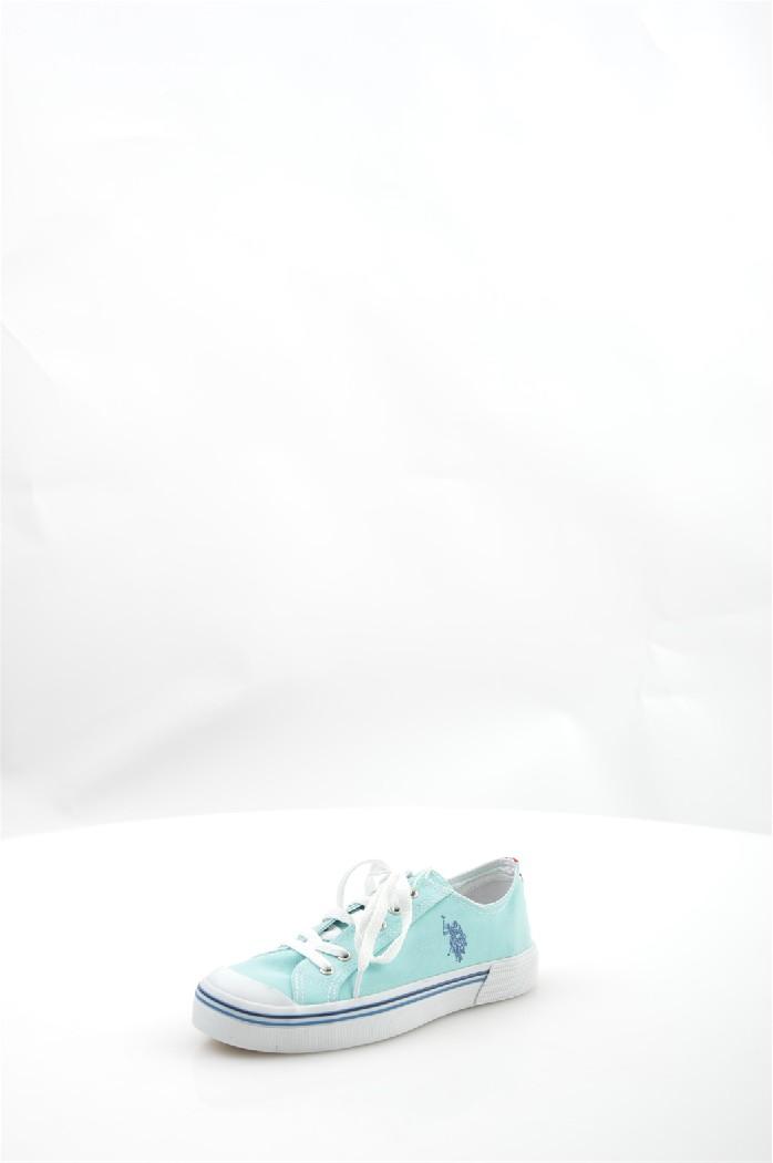 Кеды U.S. Polo Assn.Женская обувь<br>Цвет: голубой<br> Состав: текстиль 100%<br> Материал подкладки обуви: Текстиль<br> Материал подошвы обуви: ТЭП (термоэластопласт); резина<br> Материал стельки: текстиль<br> Сезон: лето<br> <br> Страна бренда: Соединенные Штаты<br> Страна производитель: Турция<br><br>Материал: Текстиль<br>Сезон: ЛЕТО<br>Коллекция: Весна-лето<br>Пол: Женский<br>Возраст: Взрослый<br>Цвет: Голубой<br>Размер RU: 37