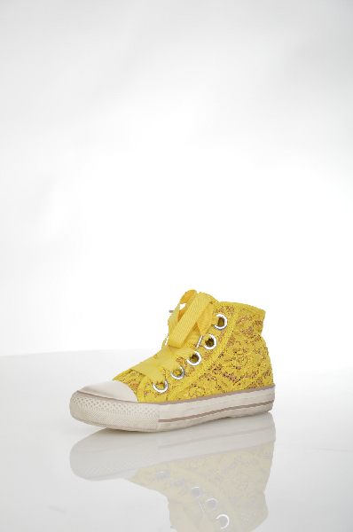 Кеды ASHЖенская обувь<br>Цвет: желтый<br> <br> Состав: натуральная кожа,полимер,текстиль<br> <br> Вид застежки Шнурки<br> Вид застежки Молния<br> Декоративные элементы Кружево<br> Высота платформы Высокая, 3.5 см<br> Материал верха Текстиль<br> Материал подошвы Резина, 100 %<br> Особенность материал...<br><br>Высота платформы: 3.5 см<br>Материал: Натуральная кожа<br>Сезон: ЛЕТО<br>Коллекция: (Справочник &quot;Номенклатура&quot; (Общие)): Весна-лето<br>Пол: Женский<br>Возраст: Взрослый<br>Цвет: Желтый<br>Размер RU: 37