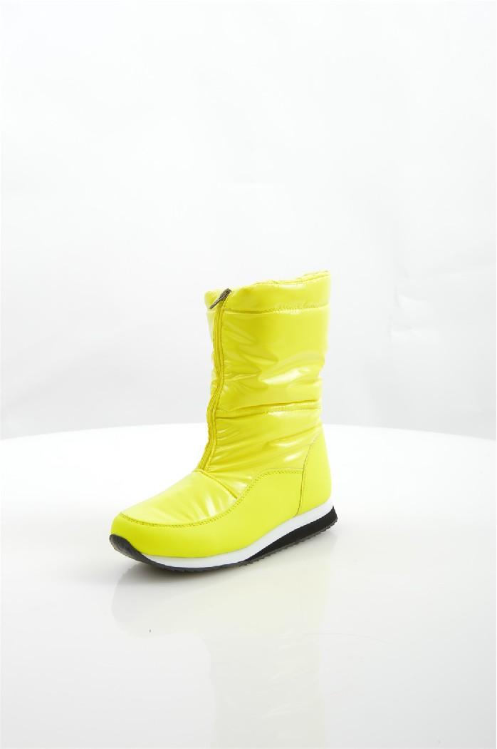 Дутики No Limits No WayЖенская обувь<br>Дутики No Limits No Way выполнены из искусственной кожи и непромокаемого текстиля, подкладка и стелька из искусственного меха.<br> <br> Материал верха: искусственная кожа, текстиль<br> Внутренний материал: искусственный мех<br> Материал подошвы: полимер<br> Материал стельки: искусственный мех<br> Высота голенища / задника: 22 см<br> Сезон: зима<br> Цвет: желтый<br> Застежка: на молнии<br><br>Высота голенища / задника: 22 см<br>Материал: Искусственная кожа<br>Сезон: ЗИМА<br>Коллекция: Осень-зима<br>Пол: Женский<br>Возраст: Взрослый<br>Цвет: Желтый<br>Размер RU: 38