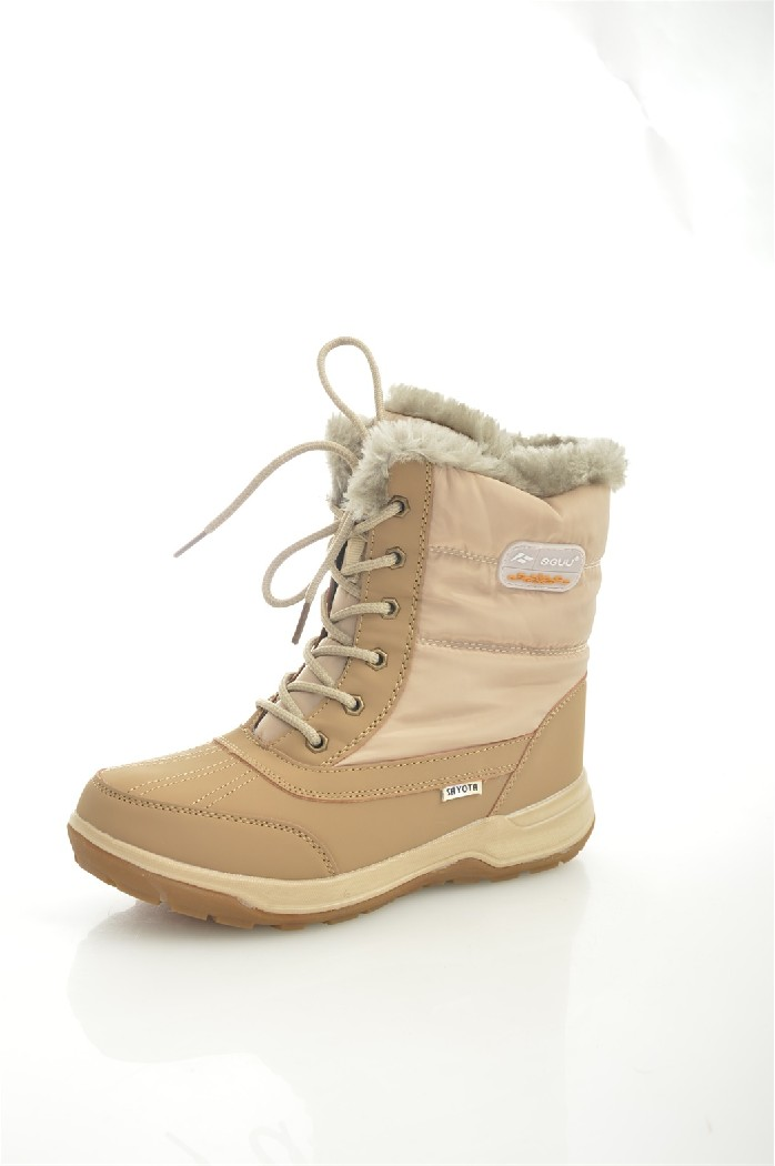 Дутики SAYOTAЖенская обувь<br>Цвет: бежевый<br> Состав: текстиль 100%<br> <br> Вид застежки: Шнуровка<br> Материал подкладки обуви: искусственный мех<br> Голенище: Высота голенища: 16 см; Обхват голенища: 25 см<br> Материал подошвы обуви: ТПР<br> Материал стельки: искусственный мех<br> Форма мыска: круглый<br> Вид мыска: закрытый<br> Высота подошвы: 2 см<br> Сезон: зима<br> <br> Страна: КНР<br><br>Высота платформы: 2 см<br>Объем голени: 25 см<br>Высота голенища / задника: 16 см<br>Материал: Текстиль<br>Сезон: ЗИМА<br>Коллекция: Осень-зима<br>Пол: Женский<br>Возраст: Взрослый<br>Цвет: Бежевый<br>Размер RU: 38