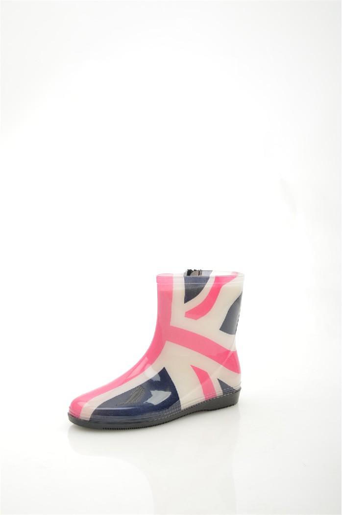 Резиновые полусапоги КоролеваЖенская обувь<br>Цвет: синий, белый<br> Состав: резина<br> <br> Материал подкладки обуви: Текстиль<br> Высота подошвы: 0.5 см<br> Высота каблука: 2 см<br> Материал стельки: искусственный материал<br> Сезон: демисезон<br> <br> Страна бренда: Россия<br> Страна производитель: Китай<br><br>Высота каблука: 2 см<br>Материал: Резина<br>Сезон: ВЕСНА/ОСЕНЬ<br>Коллекция: Весна-лето<br>Пол: Женский<br>Возраст: Взрослый<br>Цвет: Разноцветный<br>Размер RU: 38