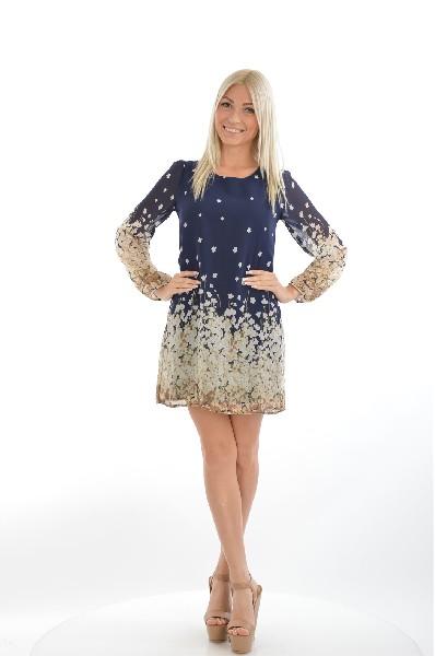 Платье YUMIЖенская одежда<br>Цвет: тёмно-синий и бежевый<br> Состав: 100% полиэстер<br> Особенности: стильное платье актуального фасона.<br> <br> Страна: Великобритания<br><br>Материал: Полиэстер<br>Сезон: ЛЕТО<br>Коллекция: Весна-лето<br>Пол: Женский<br>Возраст: Взрослый<br>Цвет: Темно-синий<br>Размер INT: S