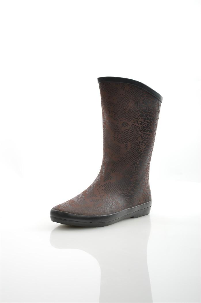 Сапоги резиновые NOBBAROЖенская обувь<br>Цвет: коричневый<br> Материал верха: резина<br> Материал подкладки: текстиль<br> Материал стельки: текстиль<br> Материал подошвы: искусственный материал, шероховатая<br> Высота голенища: 21,5 см<br> Высота каблука: 1,5 см<br> Местоположение логотипа: стелька<br><br>Высота каблука: 1.5 см<br>Высота голенища / задника: 21 см<br>Материал: Резина<br>Сезон: ВЕСНА/ОСЕНЬ<br>Коллекция: Весна-лето<br>Пол: Женский<br>Возраст: Взрослый<br>Цвет: Коричневый<br>Размер RU: 38